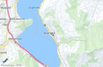 Stadtplan Walchwil