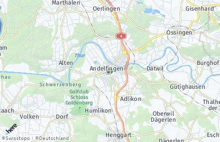 Stadtplan Andelfingen