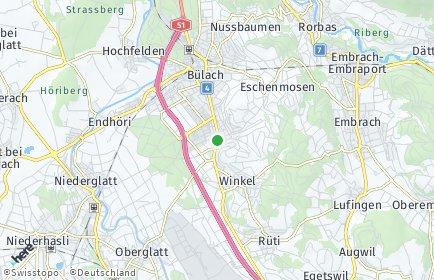 Stadtplan Bachenbülach