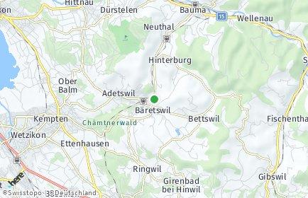 Stadtplan Bäretswil