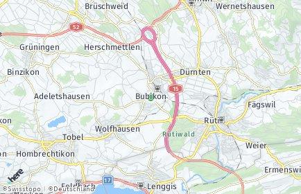 Stadtplan Bubikon