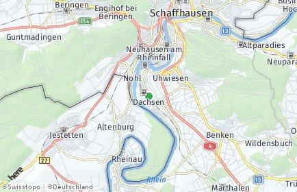 Stadtplan Dachsen