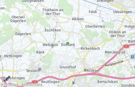 Stadtplan Dinhard