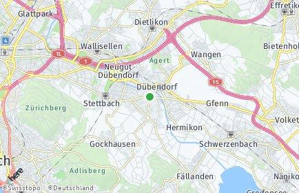 Stadtplan Dübendorf