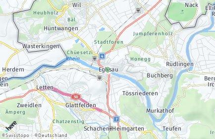 Stadtplan Eglisau