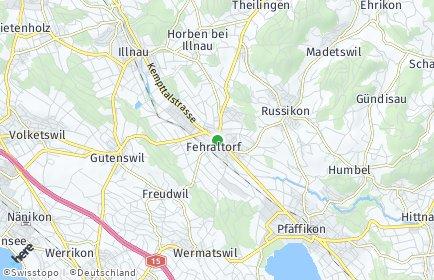 Stadtplan Fehraltorf