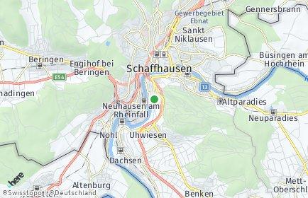 Stadtplan Flurlingen