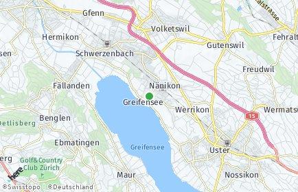 Stadtplan Greifensee