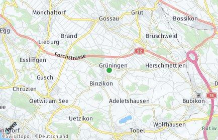 Stadtplan Grüningen