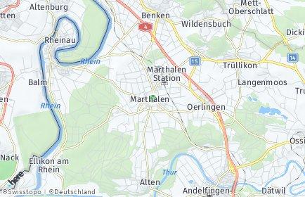 Stadtplan Marthalen