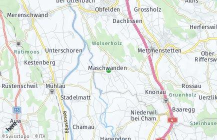 Stadtplan Maschwanden