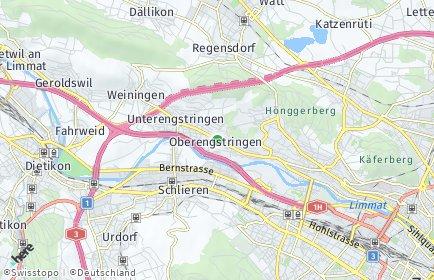 Stadtplan Oberengstringen