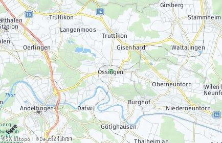 Stadtplan Ossingen