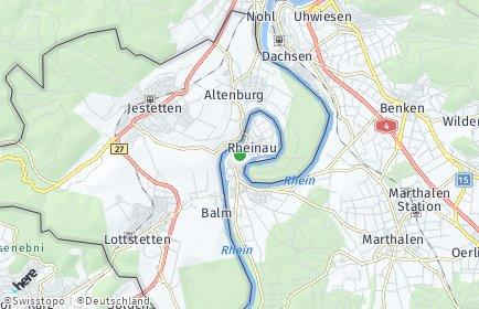 Stadtplan Rheinau
