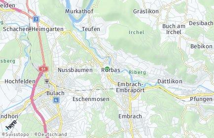 Stadtplan Rorbas