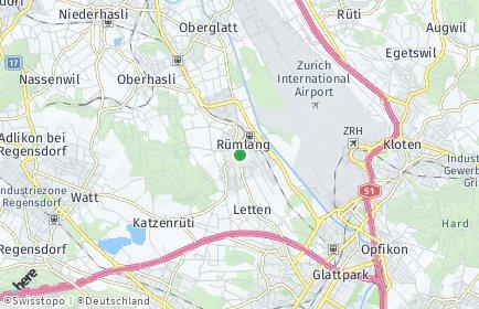 Stadtplan Rümlang