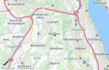 Stadtplan Stallikon