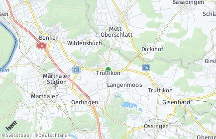 Stadtplan Trüllikon