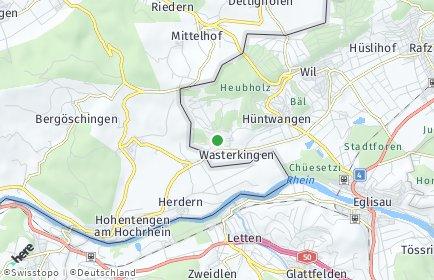 Stadtplan Wasterkingen