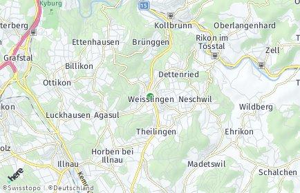 Stadtplan Weisslingen