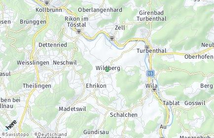 Stadtplan Wildberg