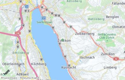 Stadtplan Zollikon