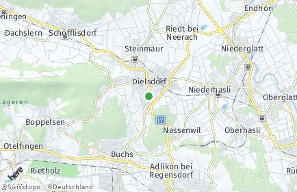 Stadtplan Dielsdorf