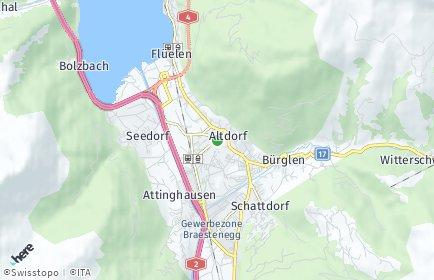 Stadtplan Uri