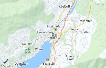 Stadtplan Obwalden