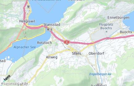 Stadtplan Nidwalden