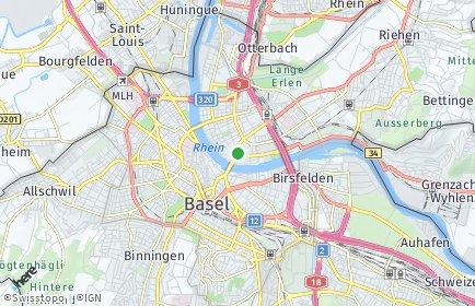Stadtplan Basel-Stadt