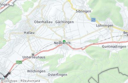 Stadtplan Oberklettgau
