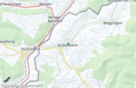 Stadtplan Schleitheim