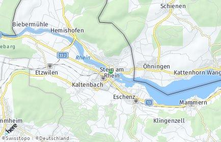 Stadtplan Stein