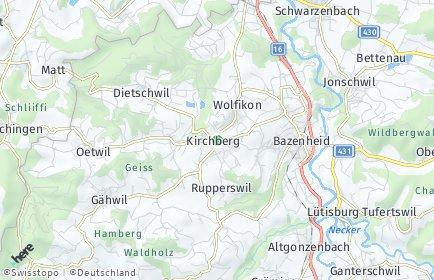 Stadtplan Toggenburg