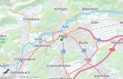 Stadtplan Aarau