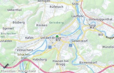 Stadtplan Brugg