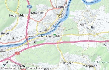 Stadtplan Rheinfelden