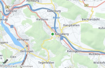 Stadtplan Zurzach