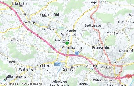 Stadtplan Münchwilen