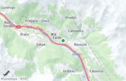 Stadtplan Leventina