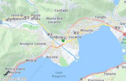 Stadtplan Locarno