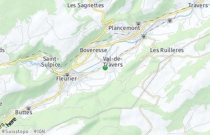 Stadtplan Val-de-Travers