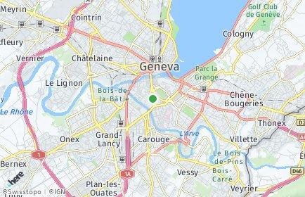 Stadtplan Genf