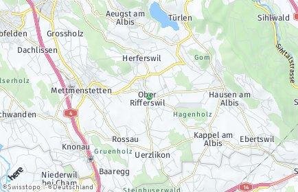 Stadtplan Rifferswil