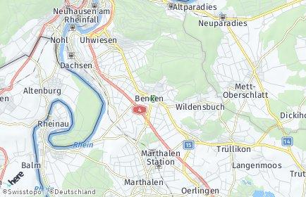 Stadtplan Benken (ZH)