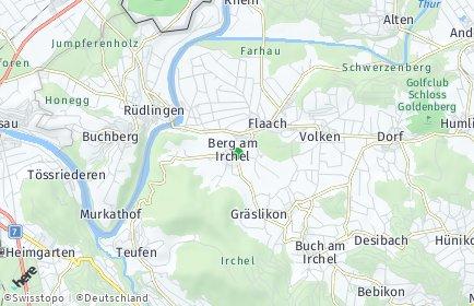 Stadtplan Berg am Irchel