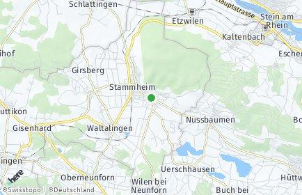 Stadtplan Oberstammheim
