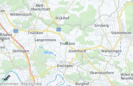 Stadtplan Truttikon