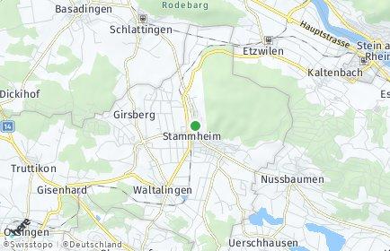Stadtplan Unterstammheim
